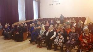 Визит в дом престарелых и инвалидов в ст. Ленинградской