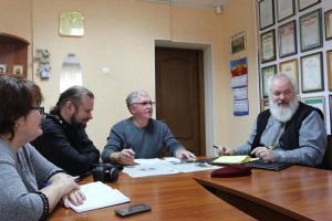 В редакции газеты «Степная новь» состоялась встреча главного редактора с духовенством Староминского благочиния