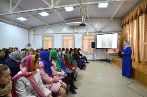 Ученики Тимашевских школ посетили ДПЦ при храме Вознесения Господня