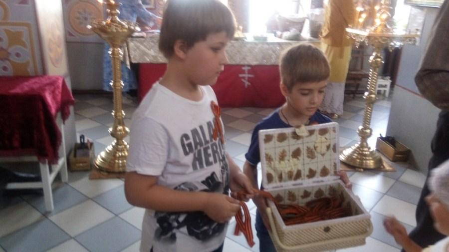 Перечень мероприятий, посвященных Дню Победы прошел в храме Воскресения Словущего г. Приморско-Ахтарска