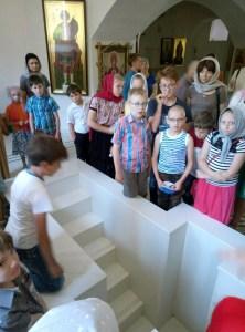 Завершила работу летняя детская площадка при храме Вознесения Господня города Тимашевска