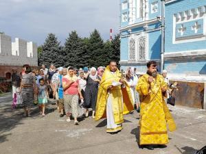 День Крещения Руси в храме Покрова Пресвятой Богородицы станицы Каневской
