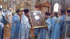 Ежегодное празднование иконы Божией Матери «Троеручица» в г. Курганинске