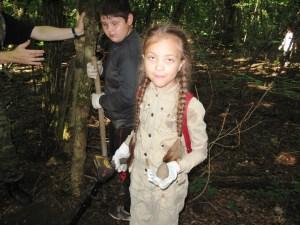 Поездка на раскопочные мероприятия на территорию казачьих лагерей