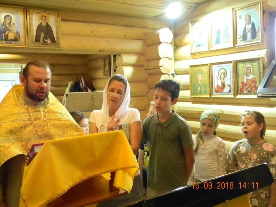 В  храме святителя Луки состоялось  первое занятие в воскресной  учебно - воспитательной группе