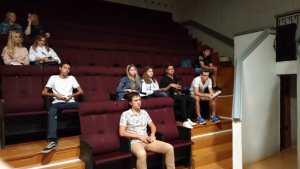 Встреча с волонтерами перед встречей Патриарха