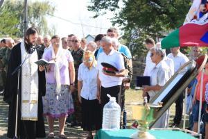 Благословение на проведение казачьих военно-полевых сборов допризывной молодёжи