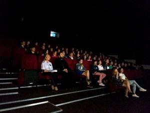 Протоиерей Александр Брижан принял участие в молодёжном кинолектории «Мы – за здоровый образ жизни».