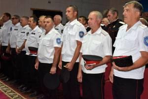 Состоялся отчетно-выборный сбор Староминского районного казачьего общества