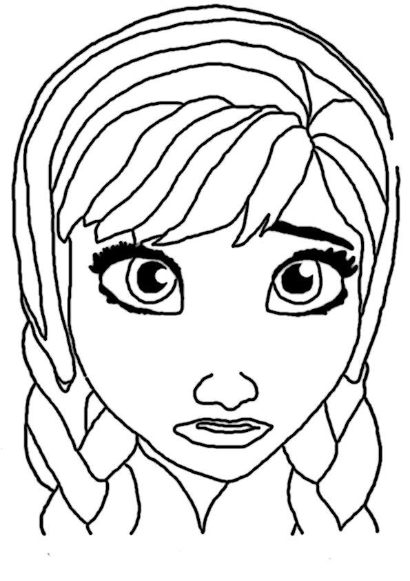 Anna-3 Ausmalbilder Eiskönigin