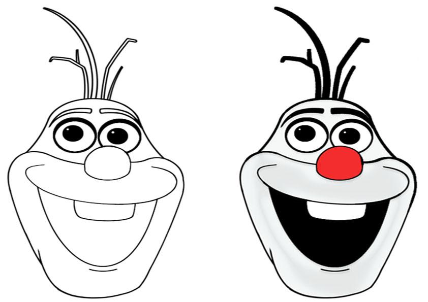 38 Olaf Zum Ausmalen - Besten Bilder von ausmalbilder