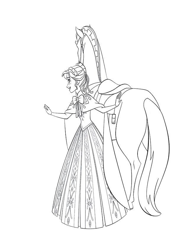Anna-9 Ausmalbilder Eiskönigin