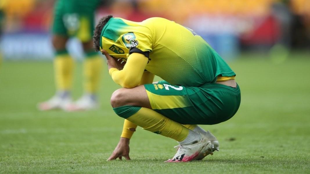 Derrota de Norwich leva a rebaixamento.