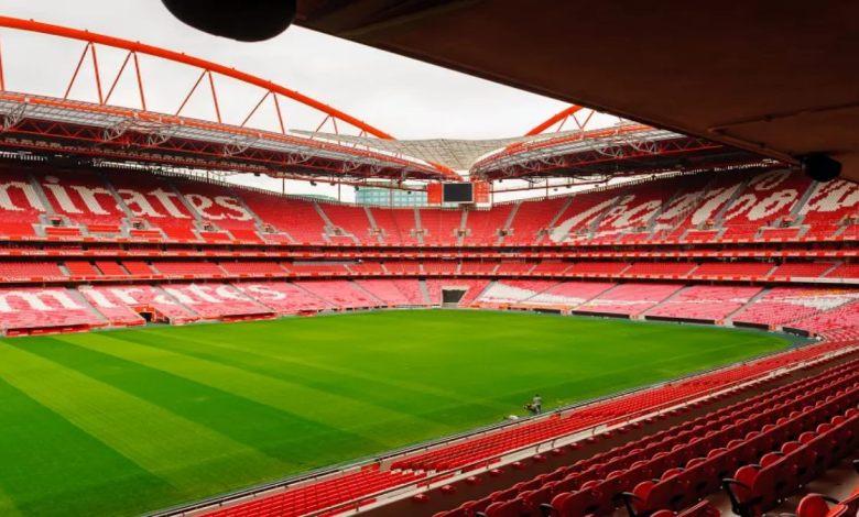 Estádio que vai sediar a final da champions league apos a sua volta após paralisação da pandemia.