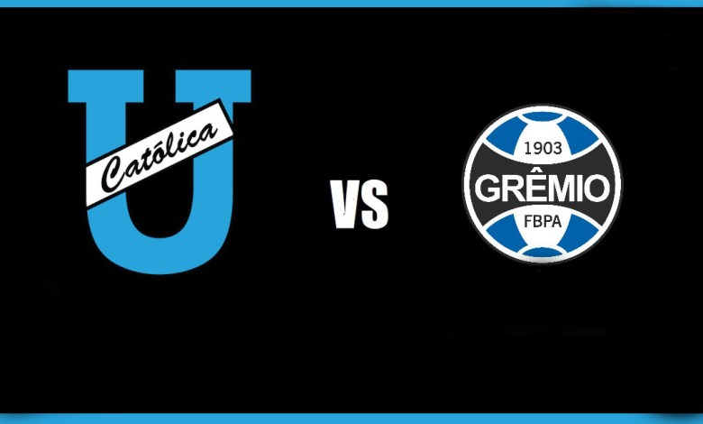 Foto - Grêmio vs Universidad Católica / Libertadores.
