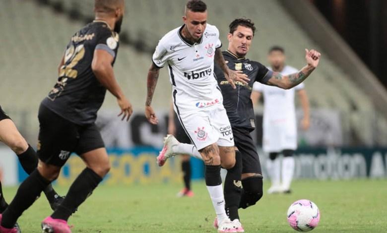 Corinthians Perde Para o Ceará e Entra no Z4 da Tabela do Brasileirão 2020