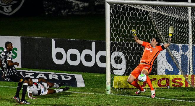 Vasco 1 vs 2 Corinthians, Rodada 18