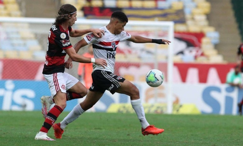 Flamengo 1 x 4 São Paulo, Rodada 19 do Brasileirão 2020