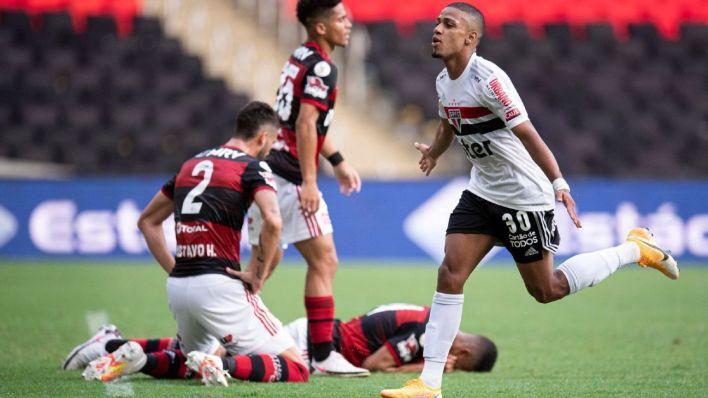 Gols de Flamengo 1x4 São Paulo
