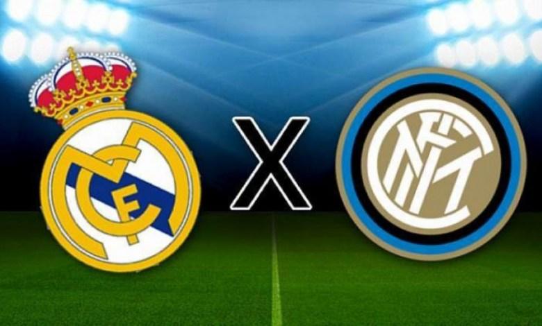 Foto/Reprodução: Real Madrid x Internazionale.