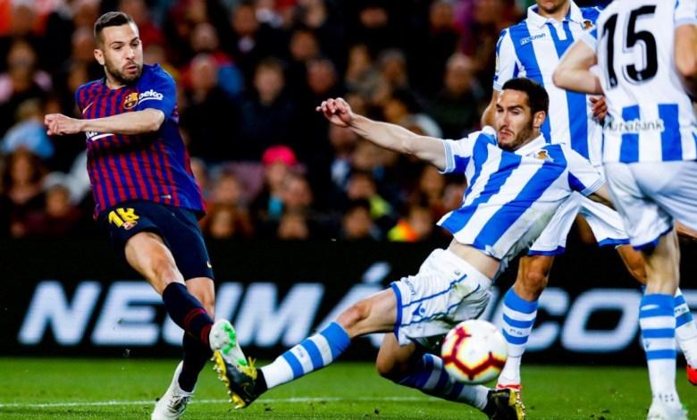 Barcelona vence Real Sociedad - Jogada de Alba
