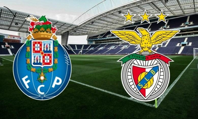 Foto - Porto x Benfica.