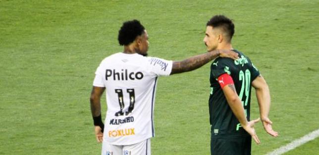 Santos 2 x 2 Palmeiras