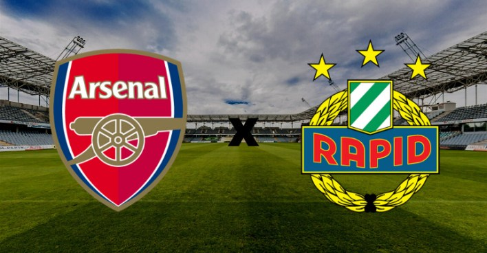 Arsenal x SK Rapid Wien