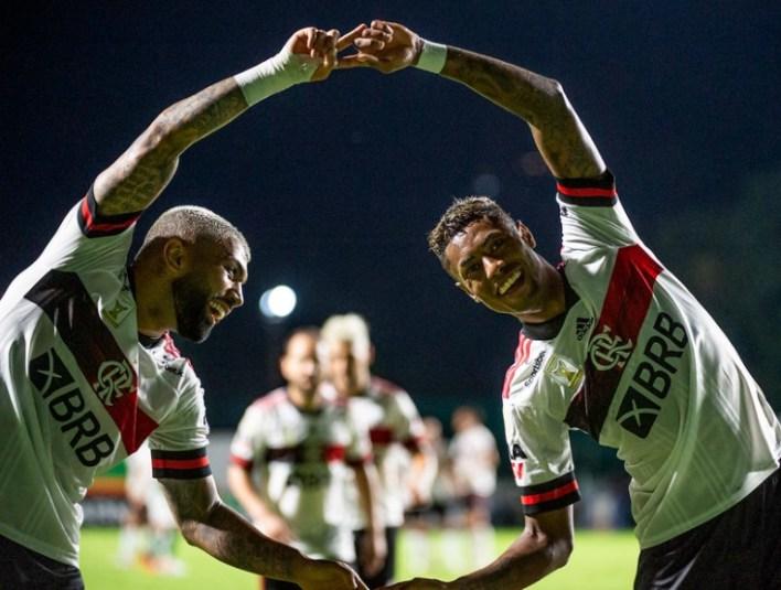 GabiGol e Bruno Henrique