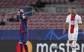 PSG Atropela Barcelona pela Champions League e com Direito a Show de Mbappé
