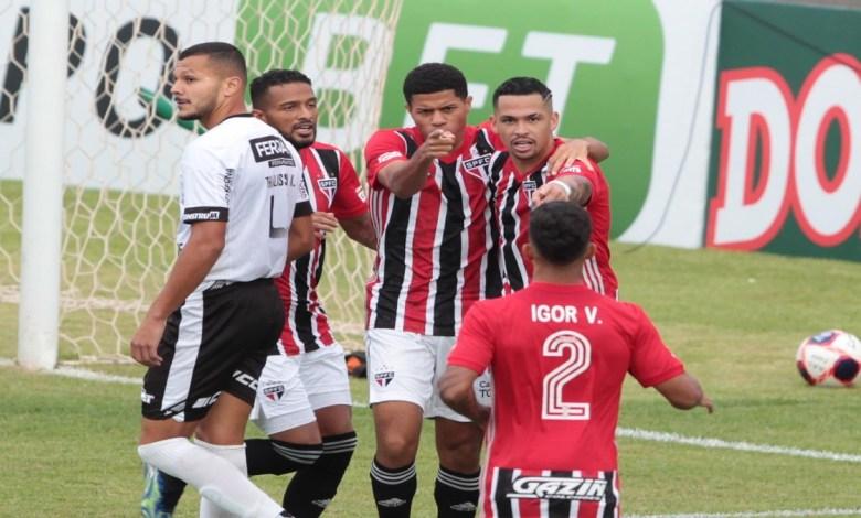 Comemoração São Paulo vs Inter de Limeira.