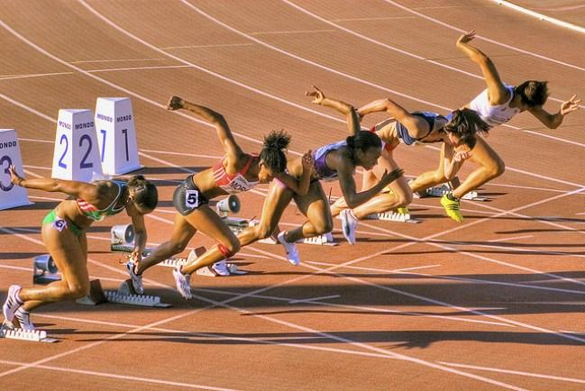 Foto/Ilustração - Atletismo.