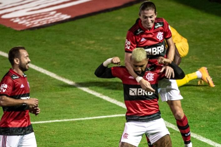 Gol de Gabigol pelo Flamengo