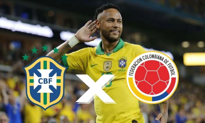 Brasil X Colômbia: 23/06