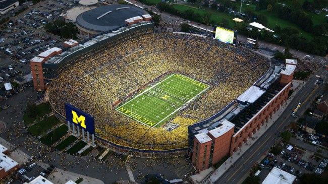 2. Michigan Stadium