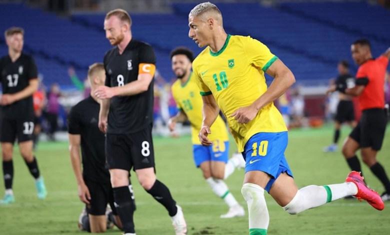 Brasil 4x2 Alemanha, Olimpíadas de Tóquio 2020