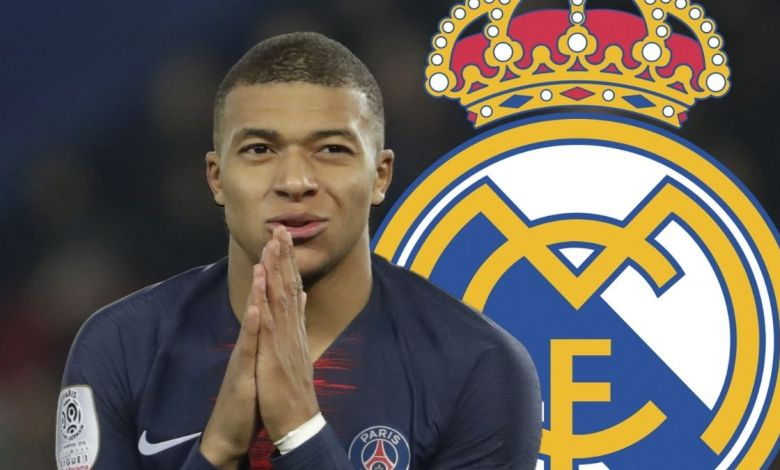 Mbappé no Real MAdrid