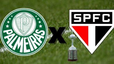 Palmeiras x São Paulo Libertadores 2021