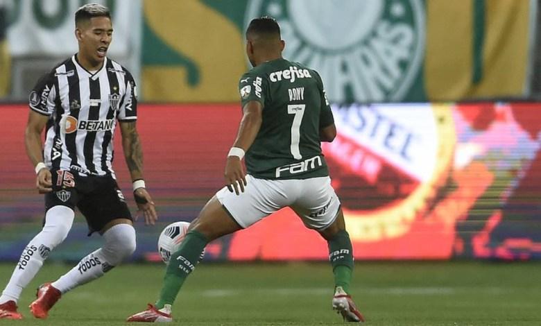 Palmeiras 0 x 0 Atlético-MG, Semifinal da Libertadores 2021