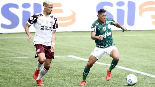 Palmeiras 1x3 Flamengo, Campeonato Brasileiro 2021