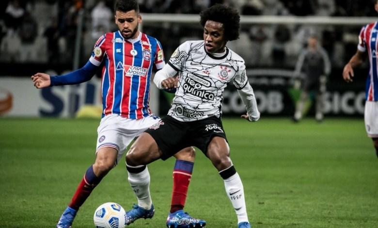 Corinthians 3x1 Bahia, Timão Vence e Convence Pela Rodada 24 do Brasileirão 2021!