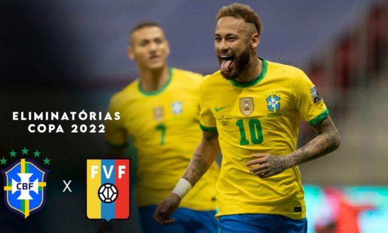 Brasil x Venezuela: Brasil vence por 3 x 1 nas eliminatórias