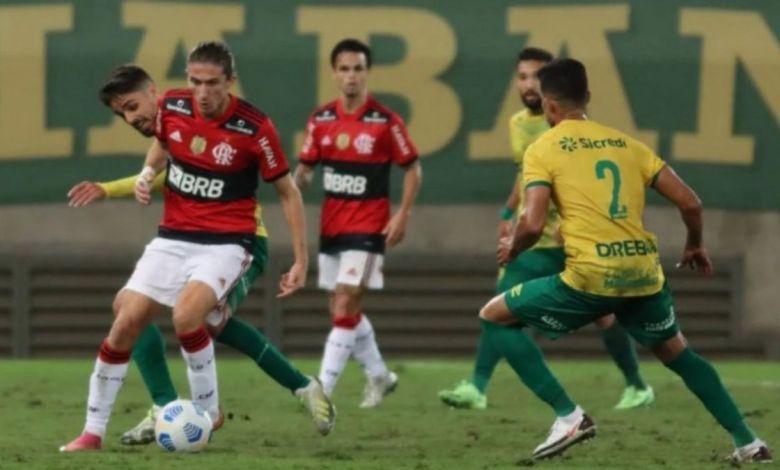 Flamengo x Cuiabá: Flamengo perde oportunidade de diminuir vantagem com o líder