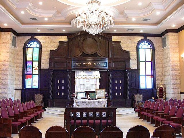 eitan s synagogue design