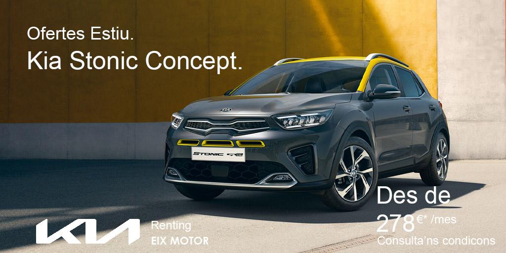 Kia Stonic Concept Renting