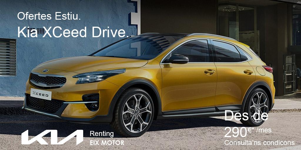 Oferta Kia XCeed Drive Renting