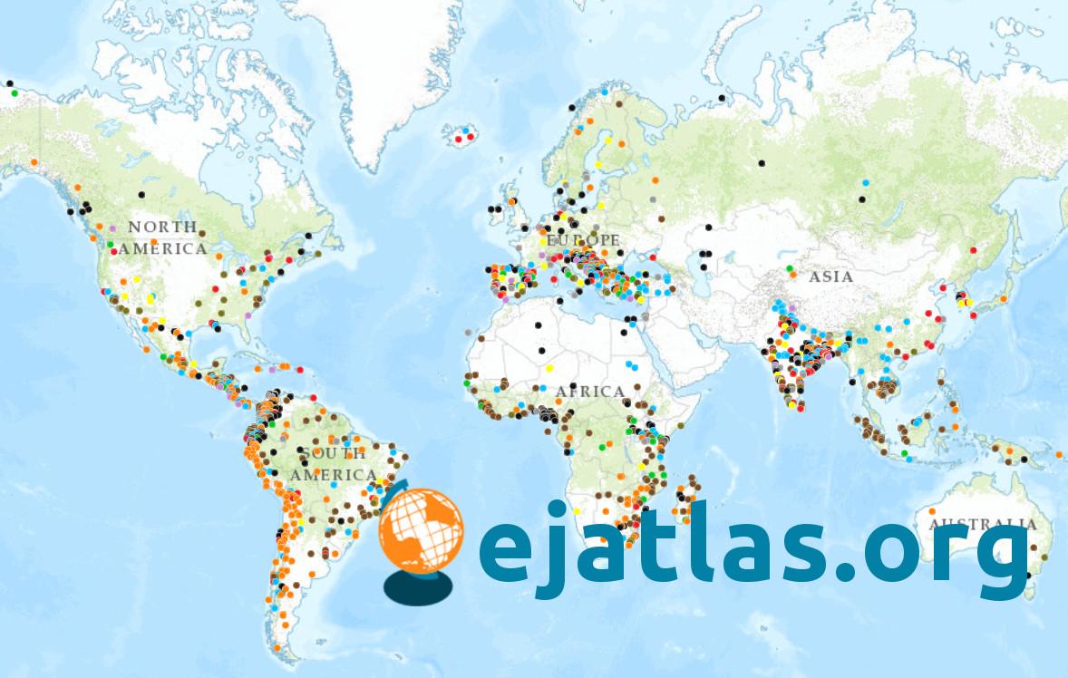 ejatlas mapping environmental justice
