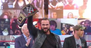 WWE Raw results, recap, grades: Drew McIntyre holds open challenge, Mysterio family drama escalates