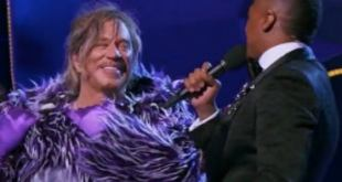 Mickey Rourke unveils himself as Masked Singer contestant in bizarre twist