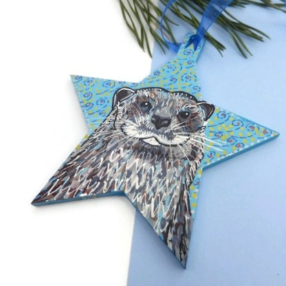 Otter decoration by Larryware